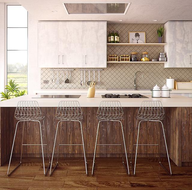 białe kuchnie w stylu skandynawskim