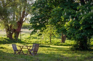 meble ogrodowe drewniane ręcznie robione