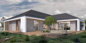 projekty domów średnich
